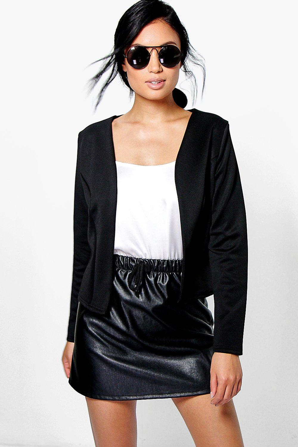 Maisy Crop Fitted Blazer