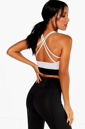 Leah Strap Back Performance Sports Bra
