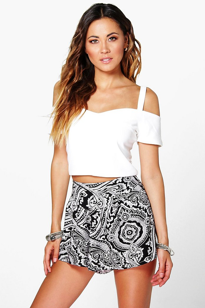 Holly Printed Runner Shorts