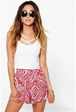 Lola Printed Runner Shorts