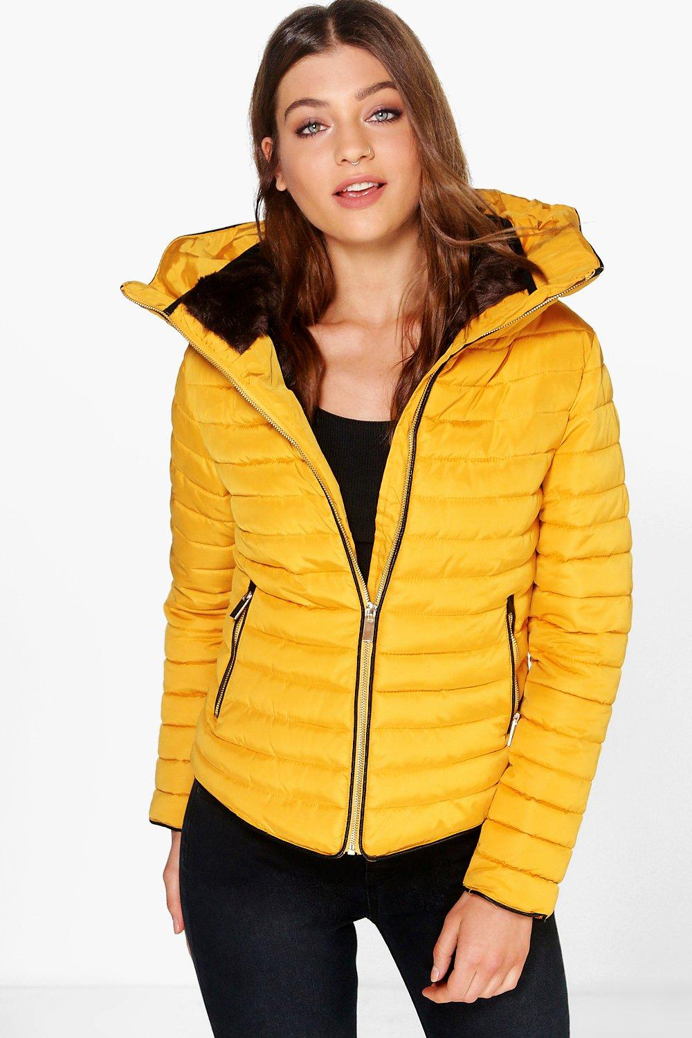 Emma Crop Bubble Coat