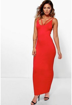 Allie Double Strap Maxi Dress