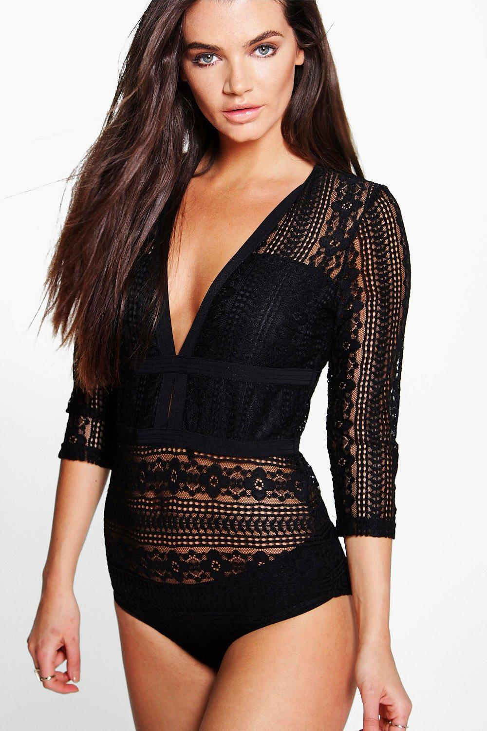 Riley Boutique Lace Bodysuit