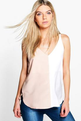 Leah Colourblock Cami