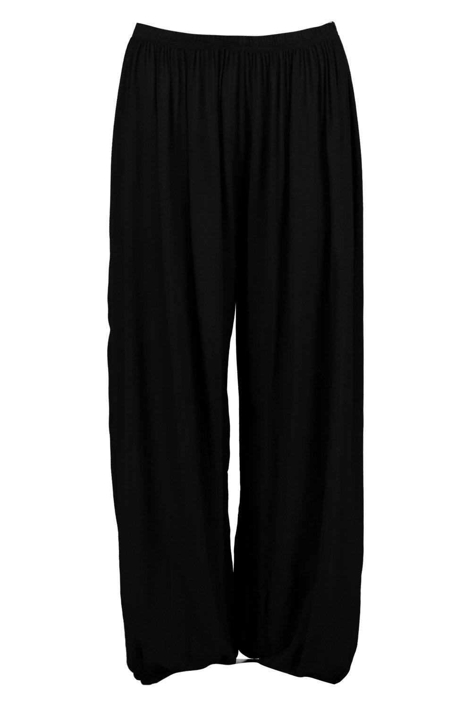 Boohoo-Valera-Pantaloni-Extra-Larghi-In-Jersey-per-Donna