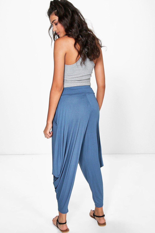 boohoo valencia pantalon harem ample et surdimensionn pour femme ebay. Black Bedroom Furniture Sets. Home Design Ideas