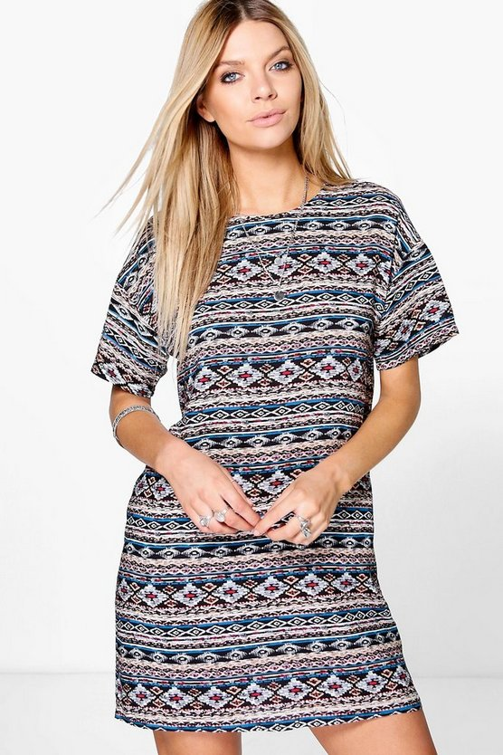 Harmony Cap Sleeve Shift Dress
