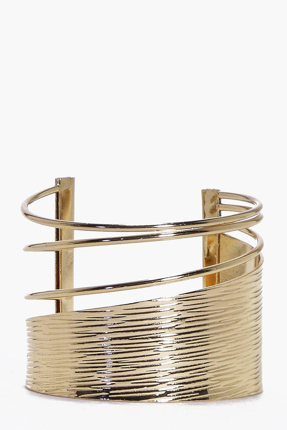 Rachel Abstract Cut Out Cuff