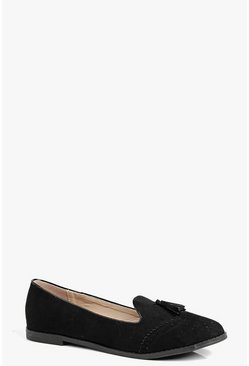 Charlotte Tassel Trim Loafer