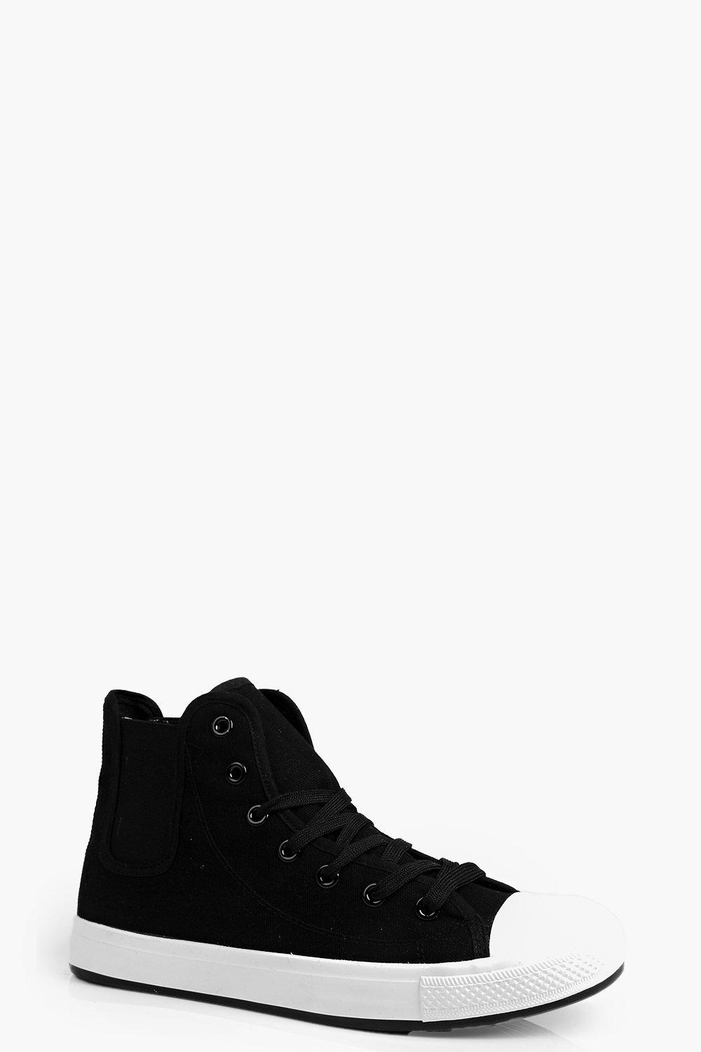 Megan Lace Up Canvas Hi-Top