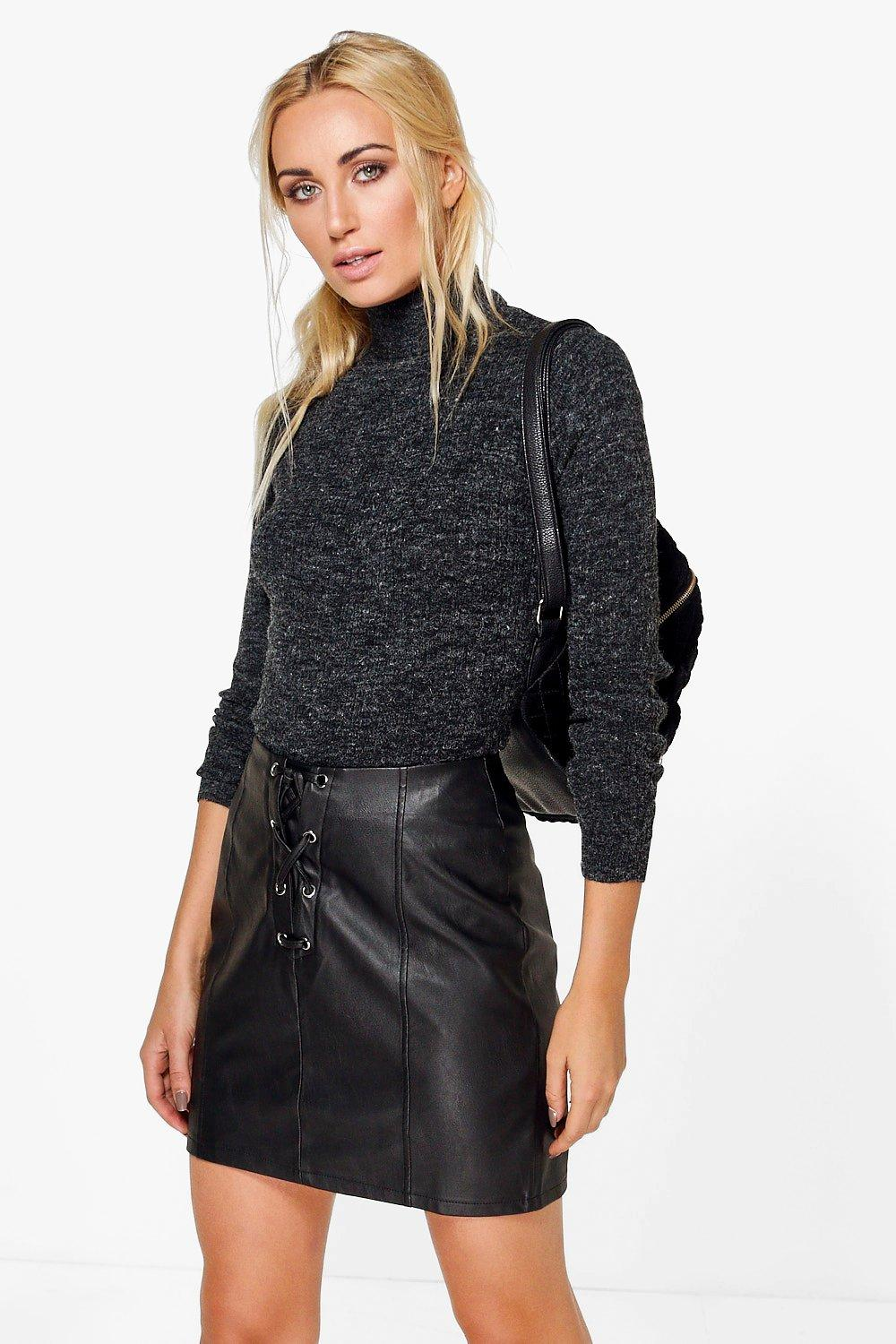 Erin Rib Knit Turtleneck Jumper