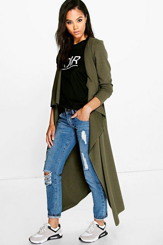 Amanda Waterfall Longline Duster