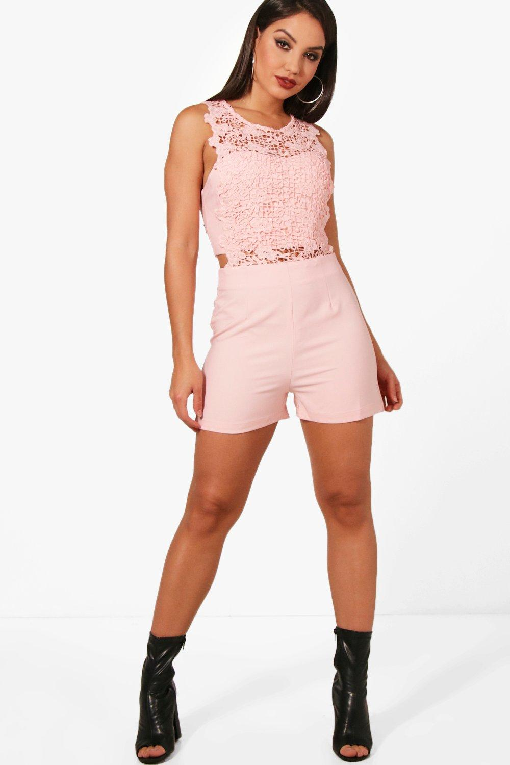 Lara Crochet Playsuit