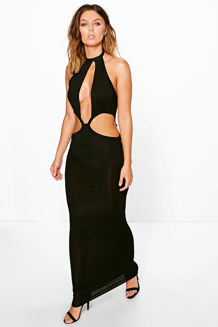 Grace Cut Out Detail Maxi Dress