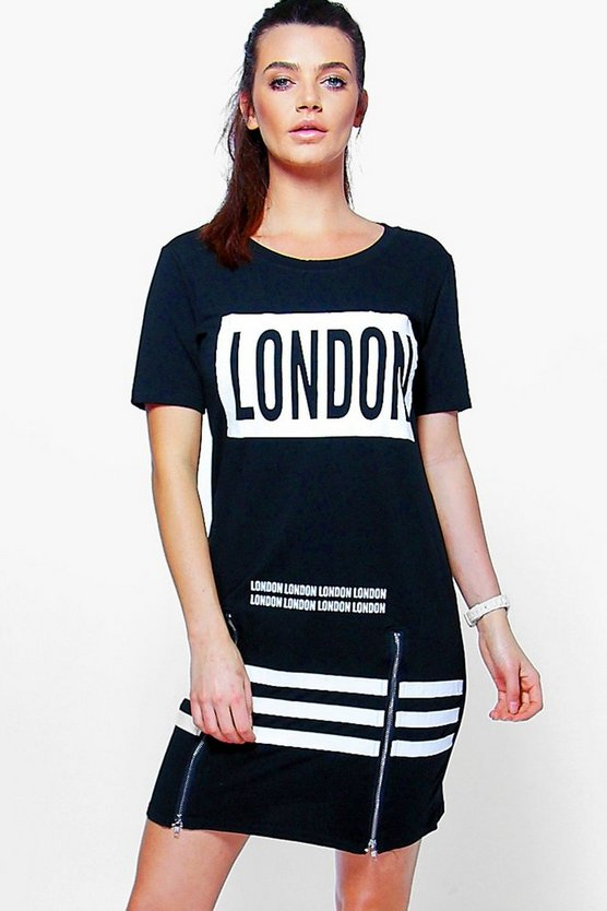 Melissa Sports London Printed T-Shirt Dress