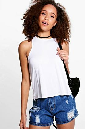 Lydia Cut Away Swing Vest