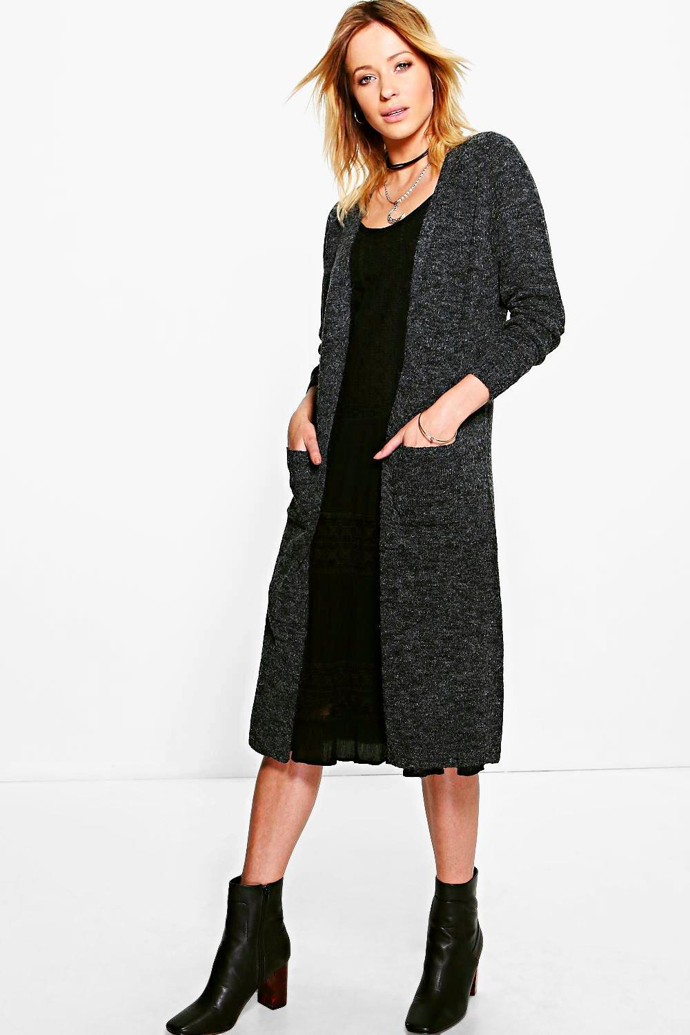 Lacey Long Edge To Edge Cardigan