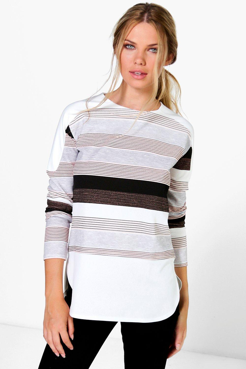 Enya Stripe Long Sleeve Top
