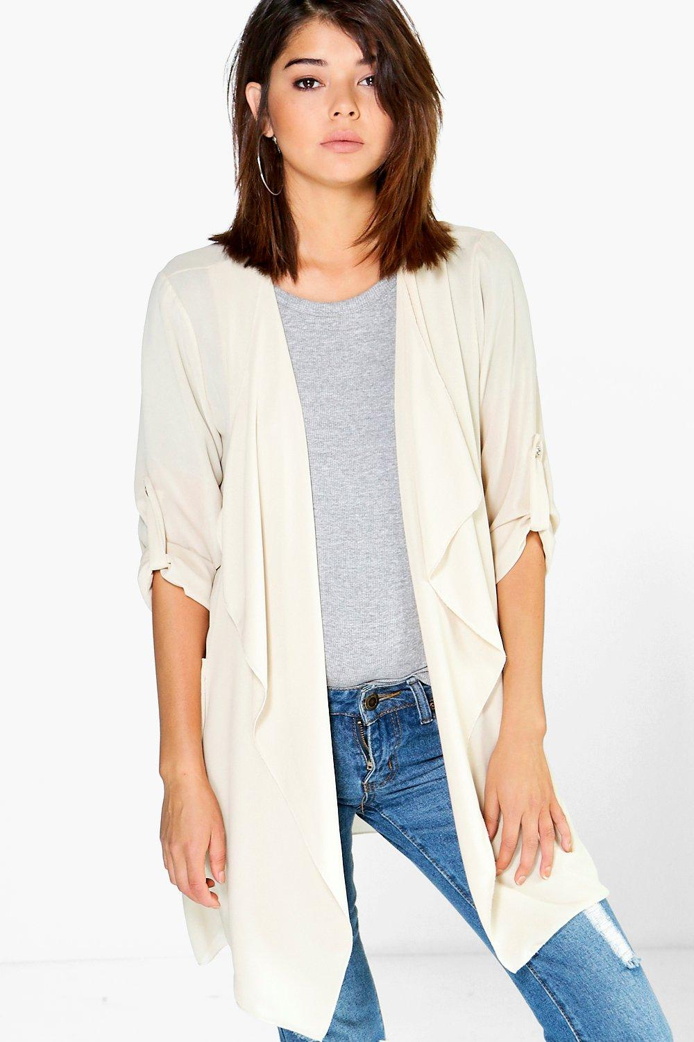 Natasha Chiffon Waterfall Jacket