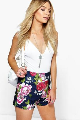 Eden Floral Tailored Shorts
