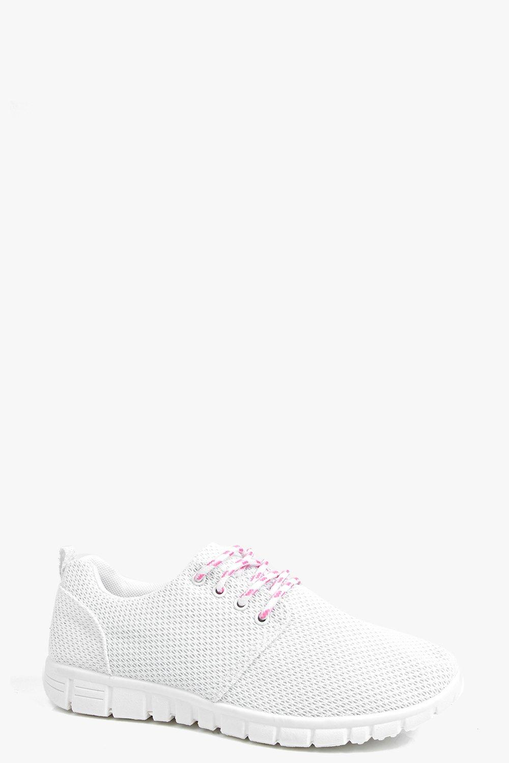Caroline Mesh Lace Up Trainer