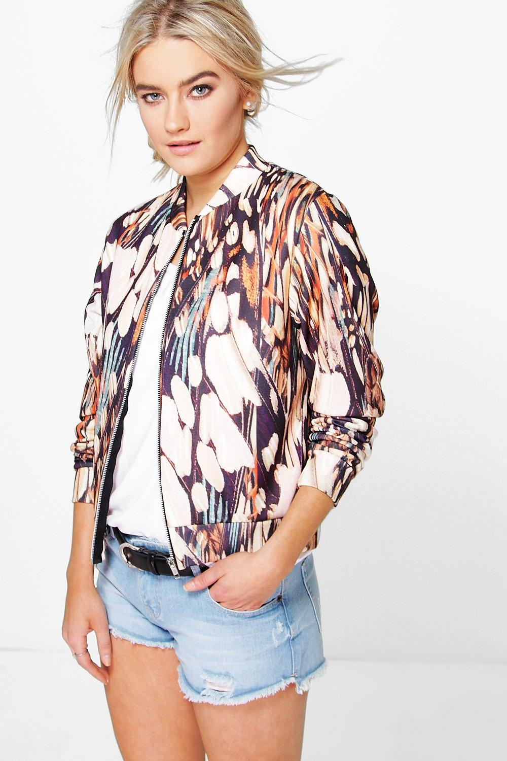 Lola Printed Jersey Bomber