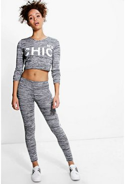 Alisha Chic No.9 Knitted Loungewear Set