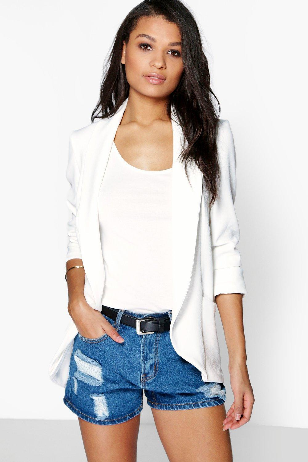 Lydia Turn Up Cuff Blazer