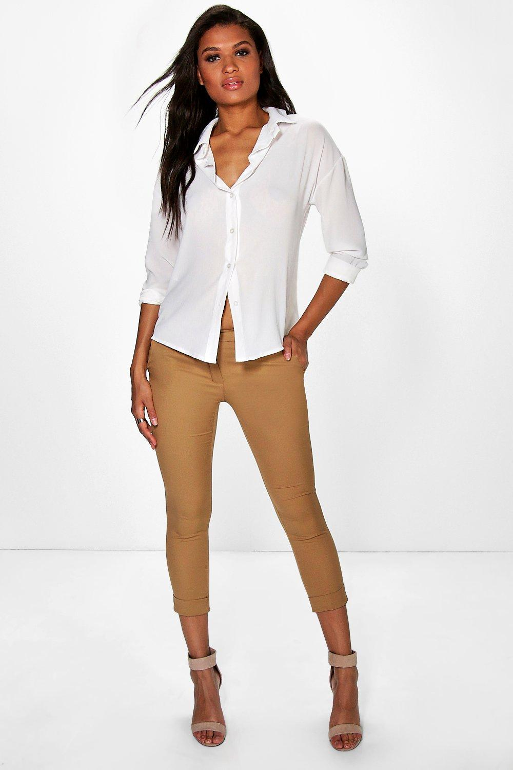 Evie Woven Tailored Skinny Trouser