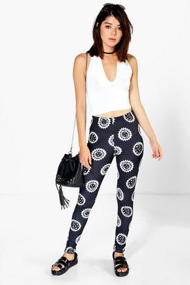 Yasmina Sun And Moon Leggings