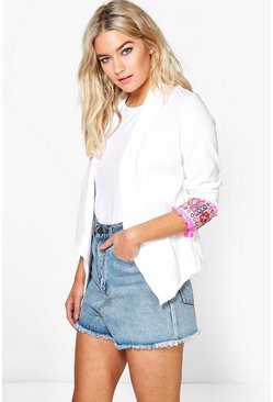Emma Pom Pom Trim Trophy Jacket