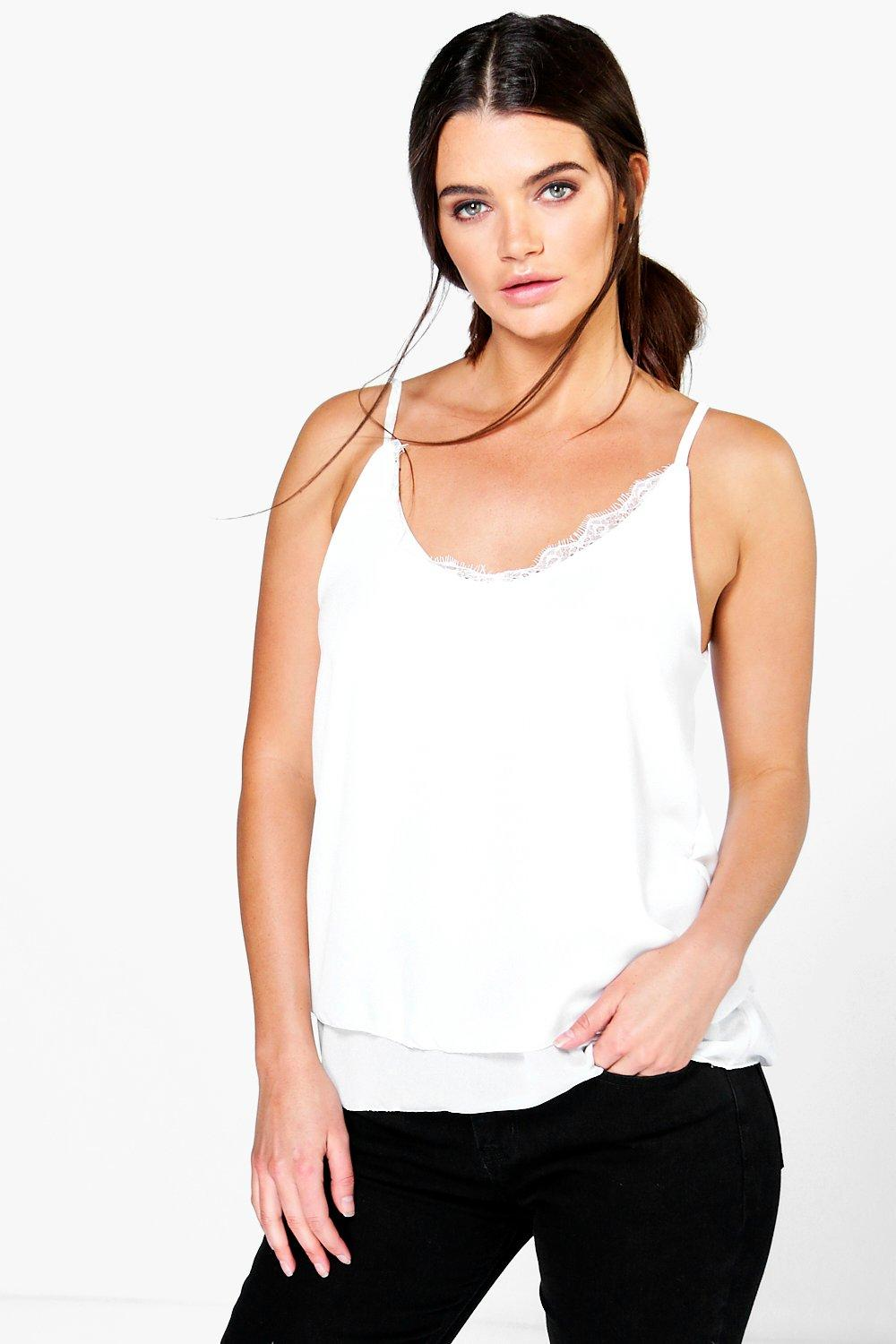 Holly Lace Trim Cami
