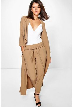Lara Belted Woven Trouser