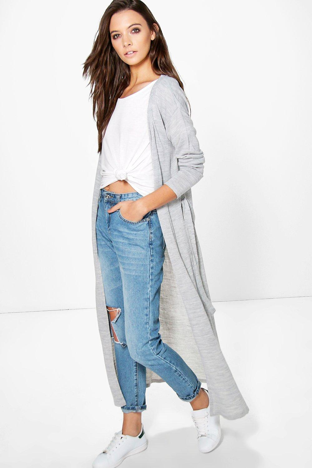 Alexis Belted Duster Cardigan | Boohoo