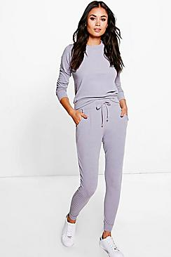 Hollie Rib Knitted Loungewear Set