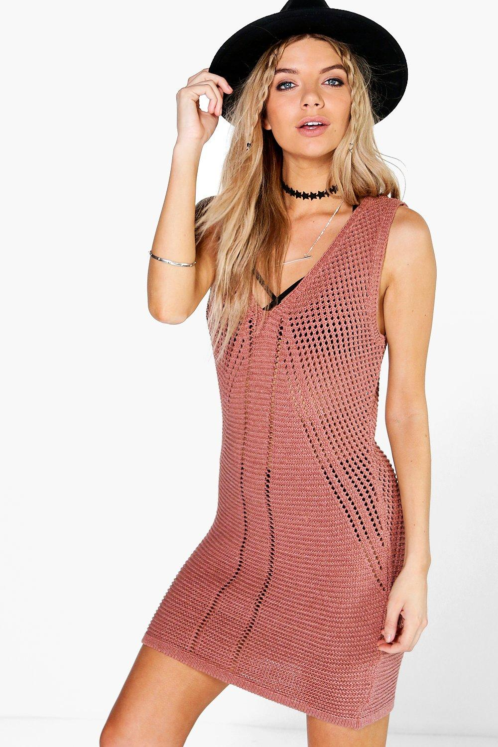 Zoe Drop Armhole Festival Cover Up