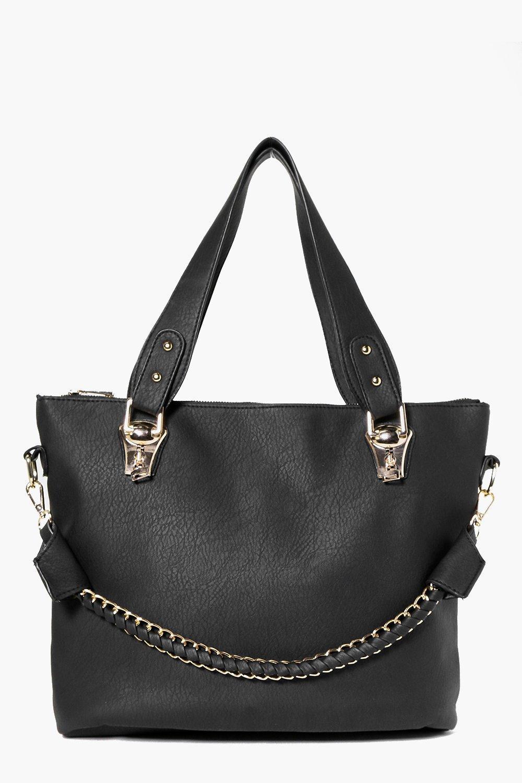 Chain Strap Day Bag black
