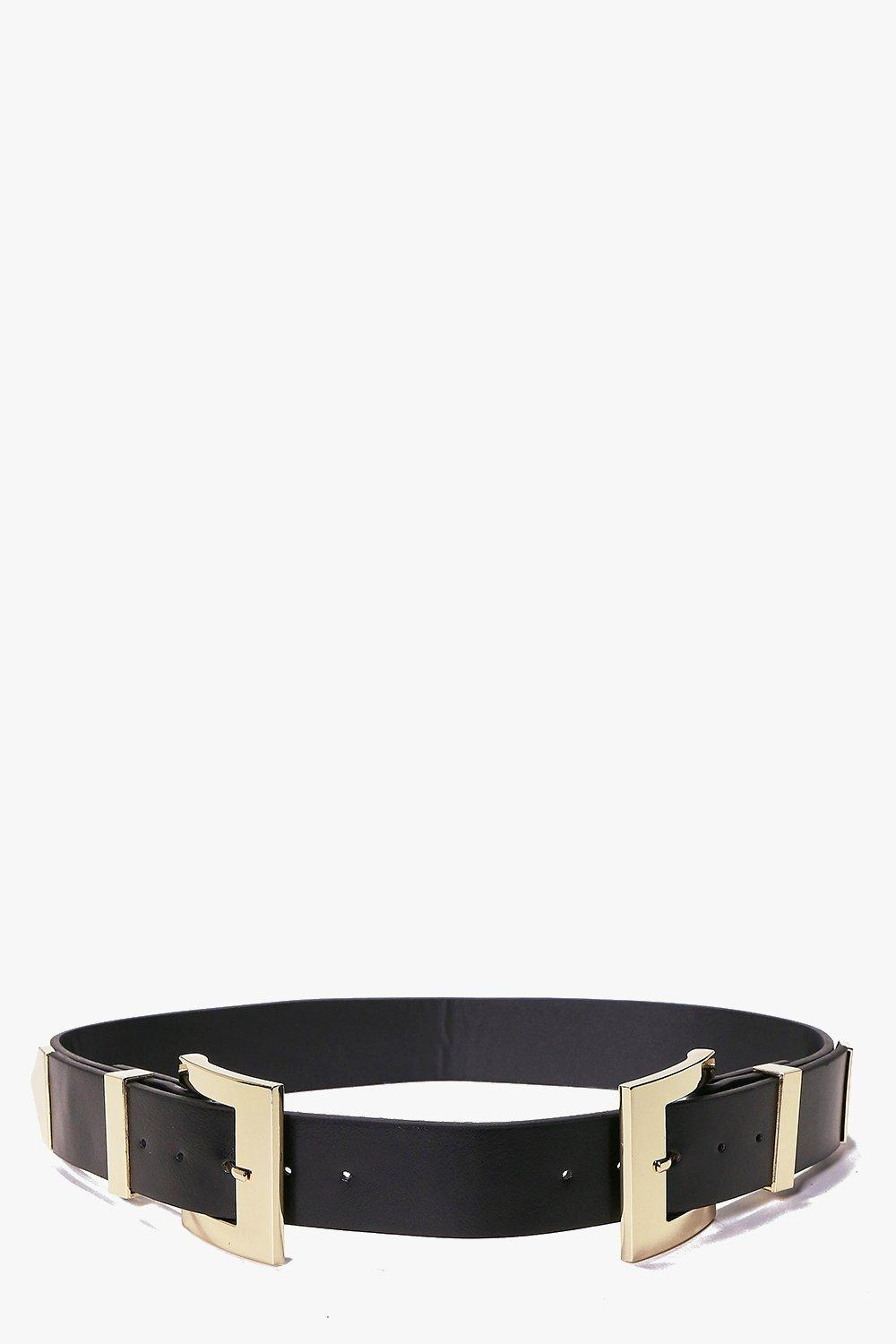 Darcy Square Double Buckle Belt