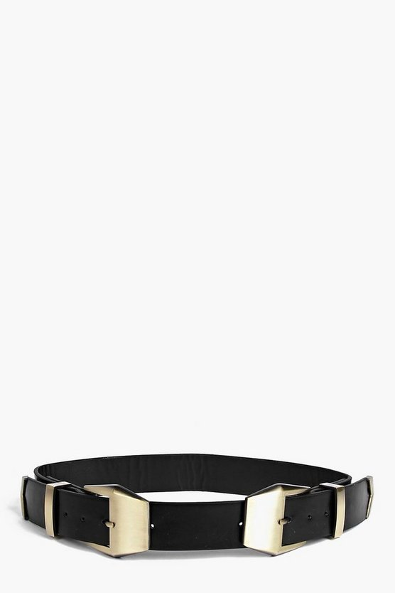 Victoria Double Buckle Belt