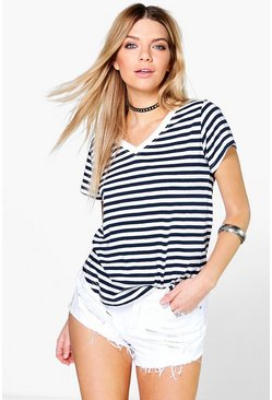 Georgie Yarn Dyed Stripe T-Shirt