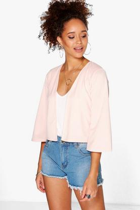 Julia Crop Bell Sleeve Jacket