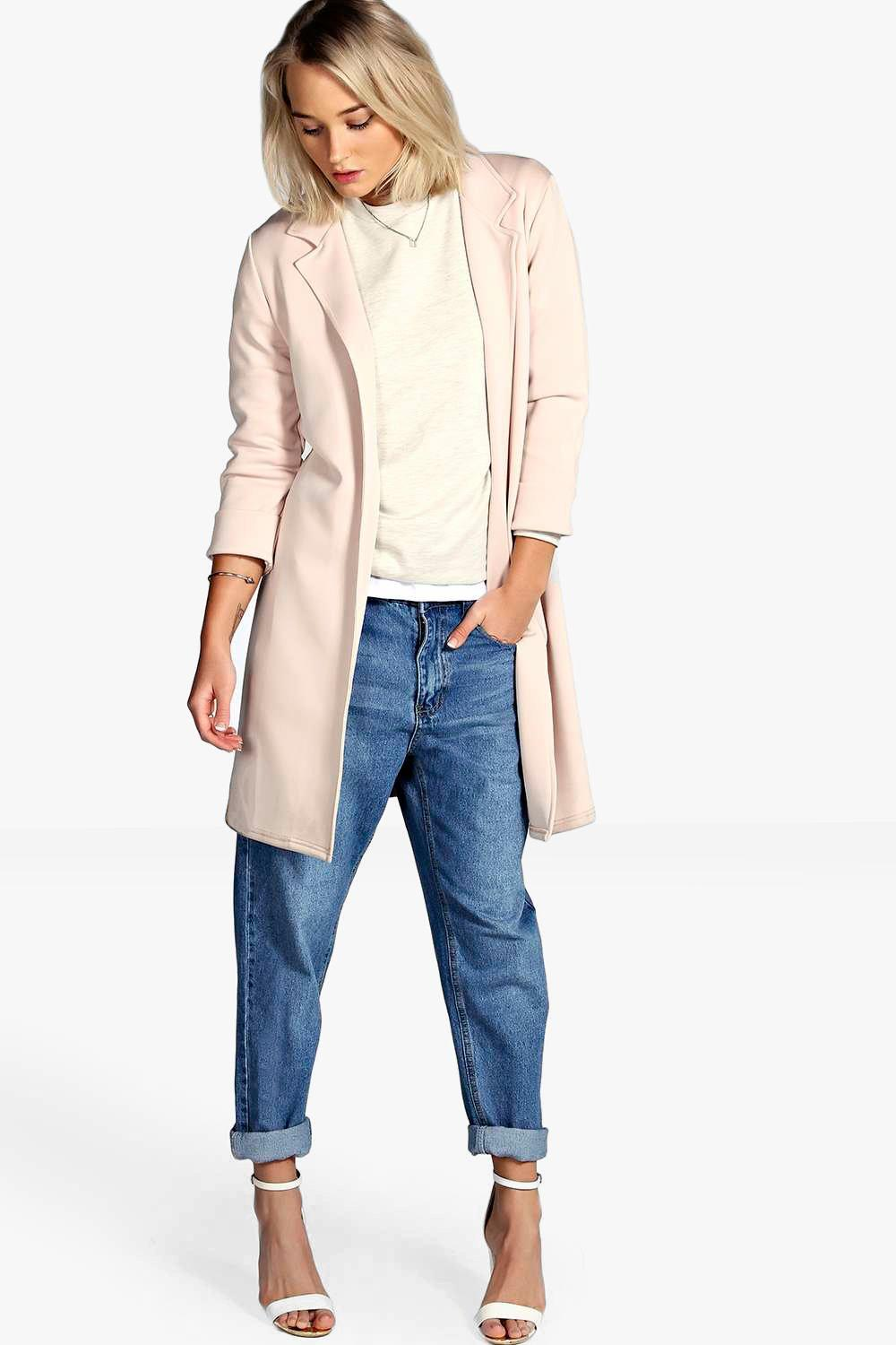 Duster Coat nude