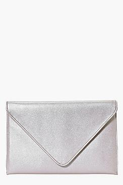 Macie Fold Over Envelope Clutch Bag