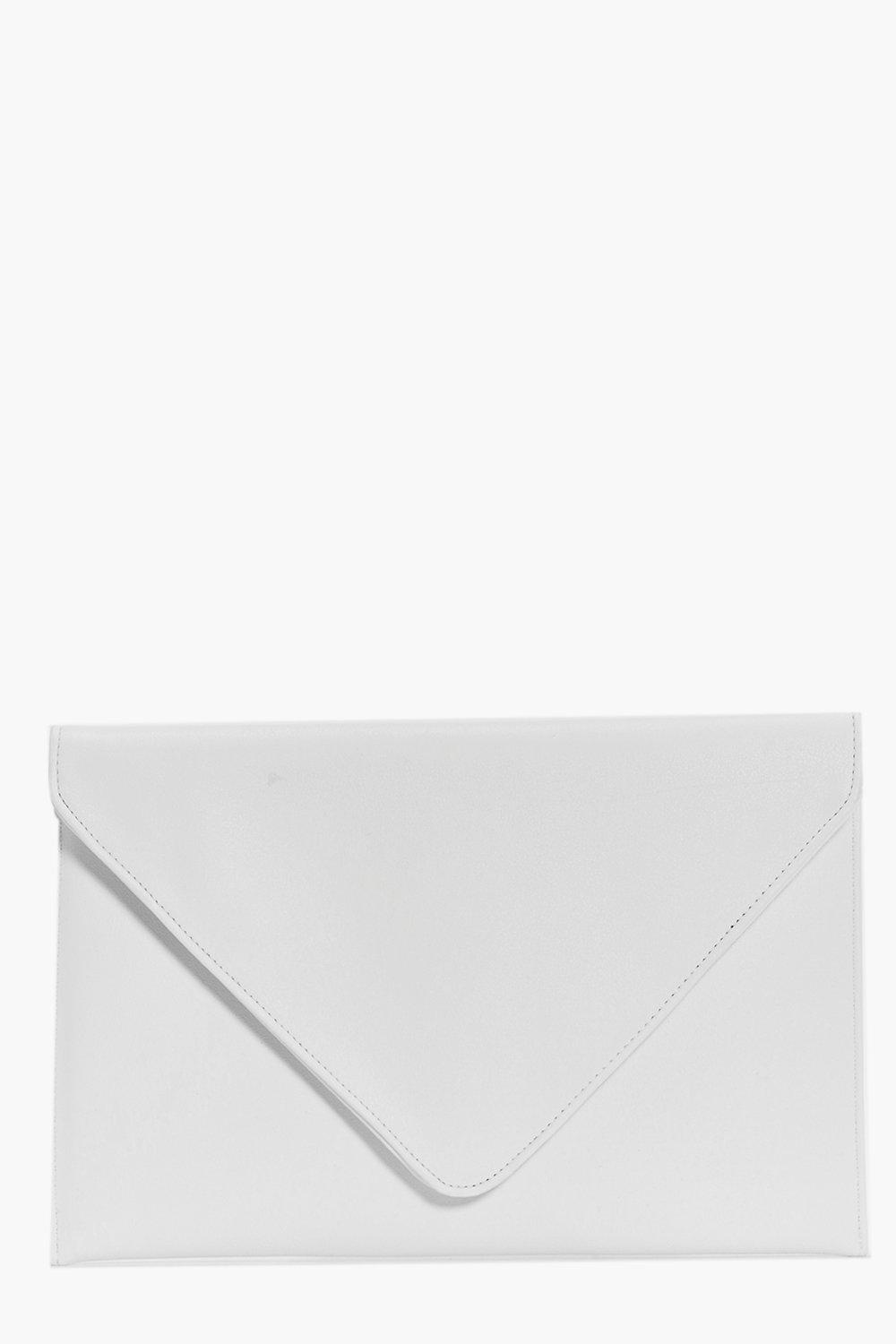 Iris Fold Over Envelope Clutch Bag