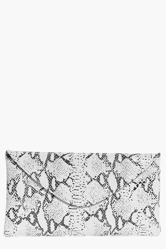 Eleanor Marble Effect Clutch Bag