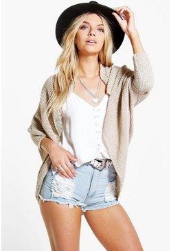 Amelie Loose Knit Batwing Cardigan