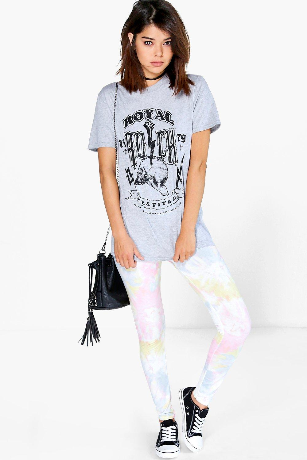 Pastel Tie Dye Leggings multi