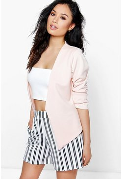Alicia Collarless Scuba Blazer