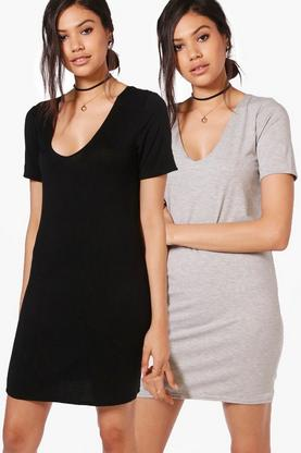 2 Pack Shift Dress