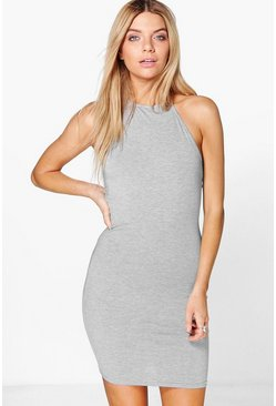 Minka Basic Halterneck Bodycon Dress